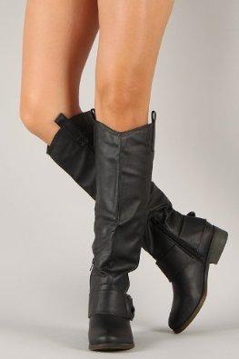 teAmazon.com: Qupid Plaau-01 boots: Shoes